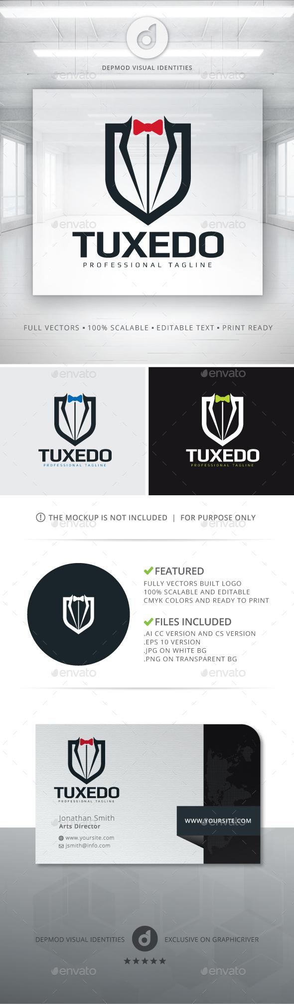 Tuxedo Logo - Objects Logo Templates
