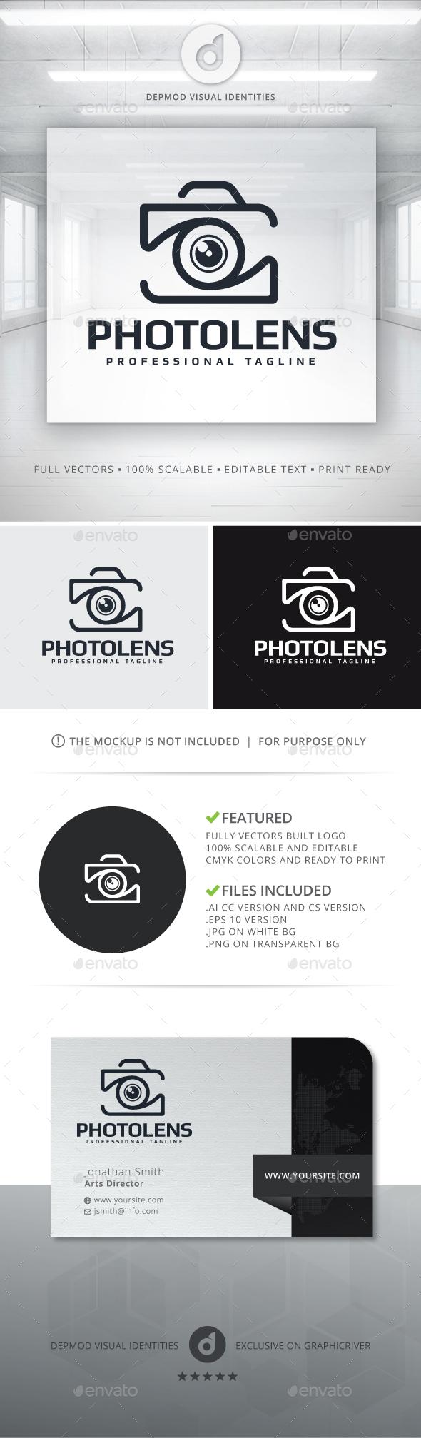 Photo Lens Logo - Objects Logo Templates