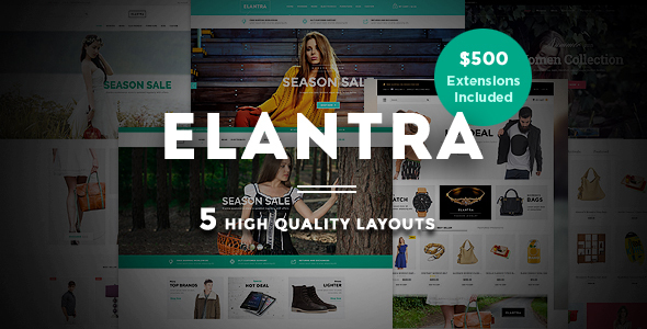 Elantra – Advanced Responsive Magento Theme