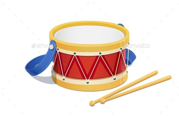 Drum Musical Instrument - Man-made Objects Objects