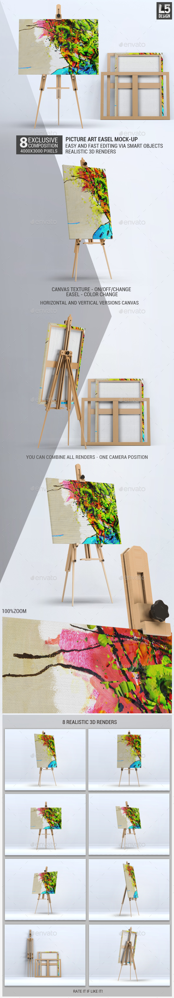 Picture Art Mock-Up - Miscellaneous Print