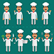 Cook Waiter and Farmer - GraphicRiver Item for Sale
