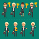 Flat Business People - GraphicRiver Item for Sale