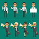 Flat Business People 2 - GraphicRiver Item for Sale