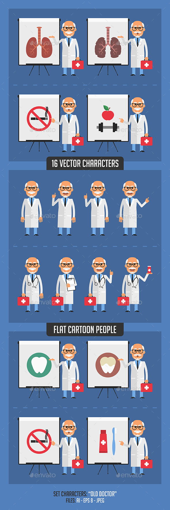 Old Doctor - People Characters