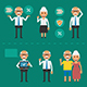 Set of Characters - GraphicRiver Item for Sale