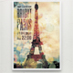 Bright Paris Party Poster Template - GraphicRiver Item for Sale