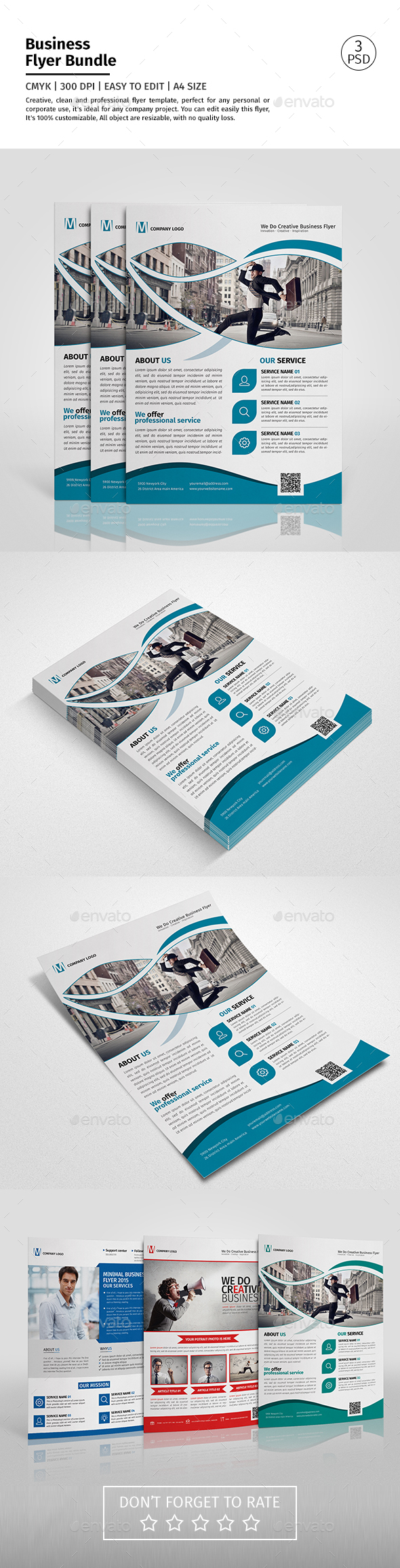 Corporate Flyer Bundle 08 - Corporate Flyers