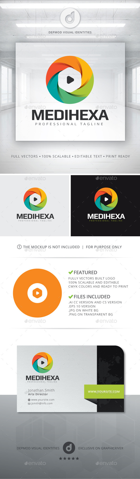 MediHexa Logo - Symbols Logo Templates