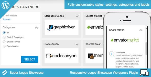 Super Logos Showcase for Wordpress - CodeCanyon Item for Sale