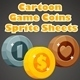 Cartoon Game Coins Sprite Sheets - GraphicRiver Item for Sale