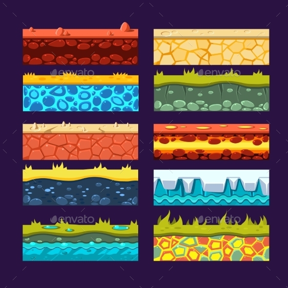 Textures for Games Platform - Miscellaneous Vectors