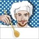 Chef Offers Dinner - GraphicRiver Item for Sale