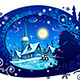 Winter Christmas Night - GraphicRiver Item for Sale