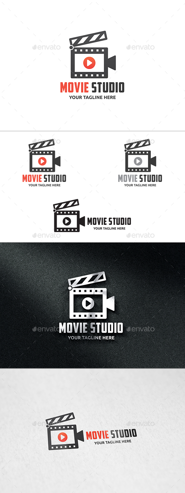 Movie Studio Logo - Symbols Logo Templates