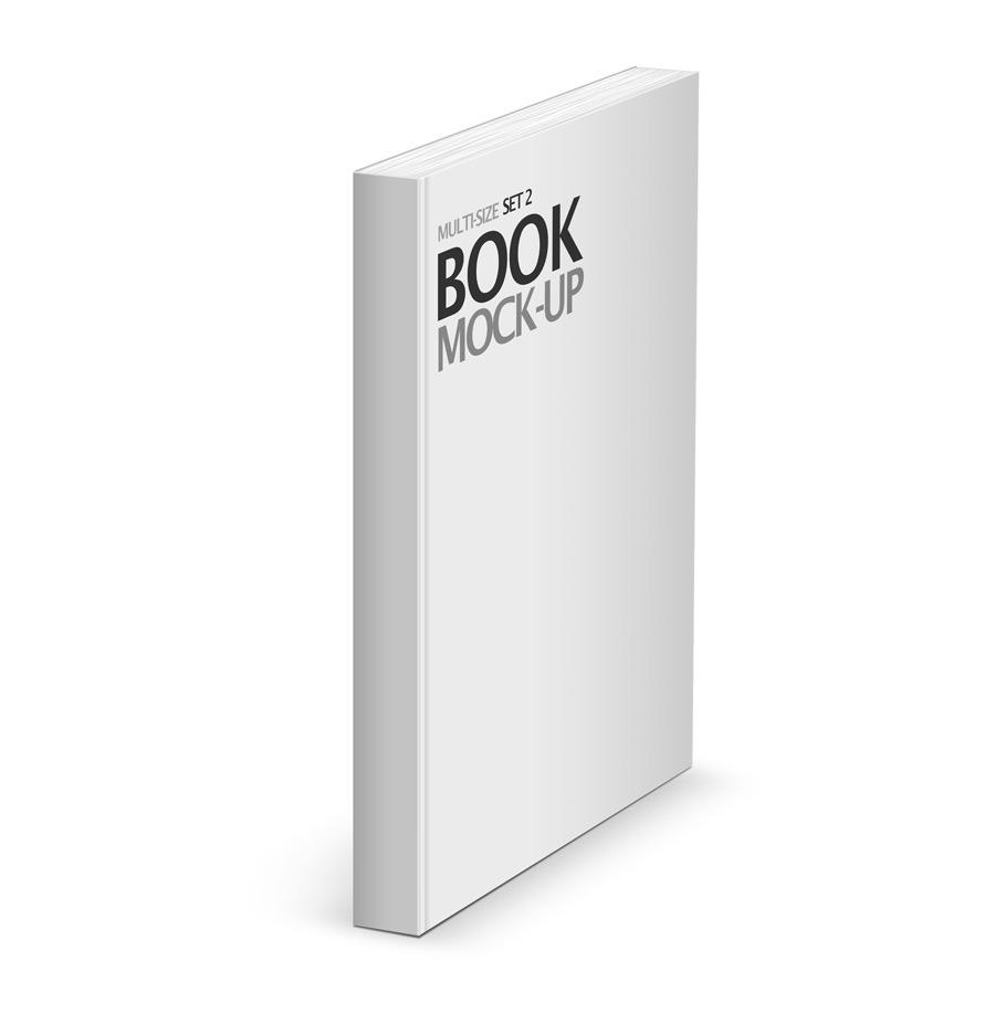 Book Cover White River : Multi size book mockup set by srvalle graphicriver