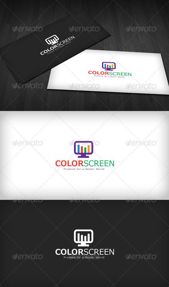Color Screen Logo - Symbols Logo Templates