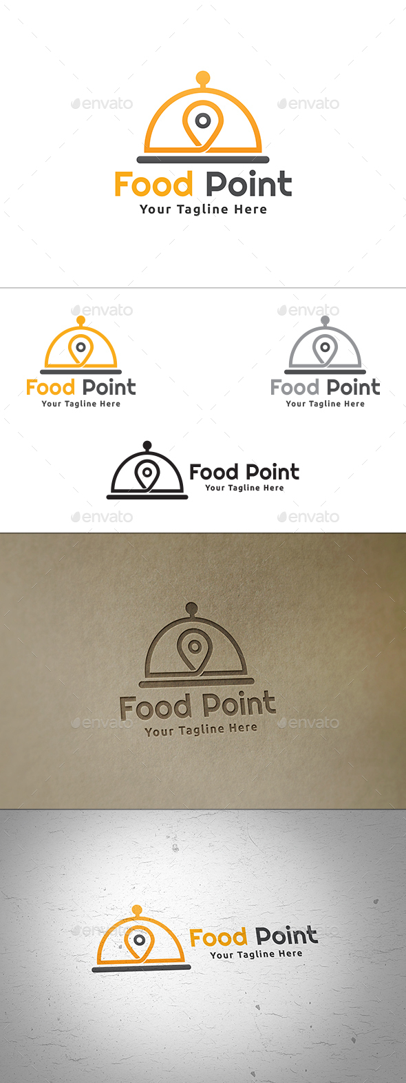 Food Point Logo - Food Logo Templates
