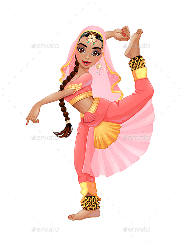 Indian Dancer - People Characters