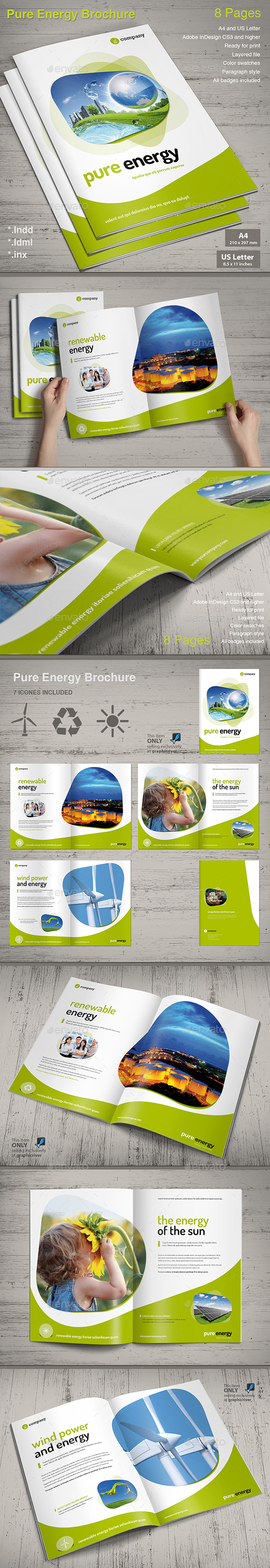 Brochure Pure Energy - Informational Brochures