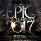 Epic NYE Flyer - GraphicRiver Item for Sale