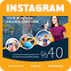 Takatuka - Business Instagram Template  - GraphicRiver Item for Sale
