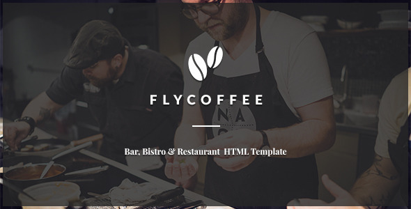 FlyCoffee – Bar and Restaurant HTML Template