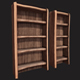 Rustic Wooden Shelf 01