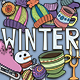 Winter Elements Set - GraphicRiver Item for Sale