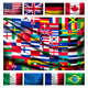 Flag Background Made of World Country Flags  - GraphicRiver Item for Sale