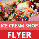 Ice Cream Shop Flyer - GraphicRiver Item for Sale