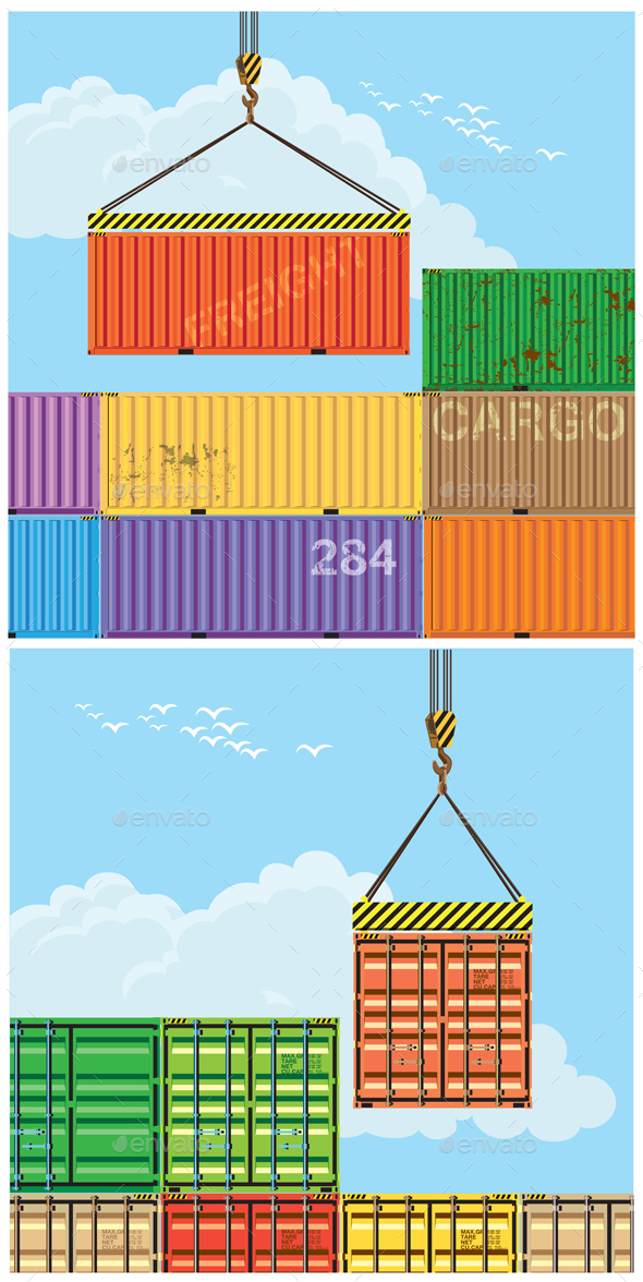 Container Handling Set - Industries Business