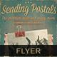 Sending Postals Flyer Poster - GraphicRiver Item for Sale
