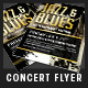 Jazz & Blues Live Concert Flyer - GraphicRiver Item for Sale