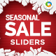 Seasonal Sale Sliders - 3 Colors - GraphicRiver Item for Sale