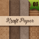 18 Brown Kraft Paper Backgrounds - GraphicRiver Item for Sale