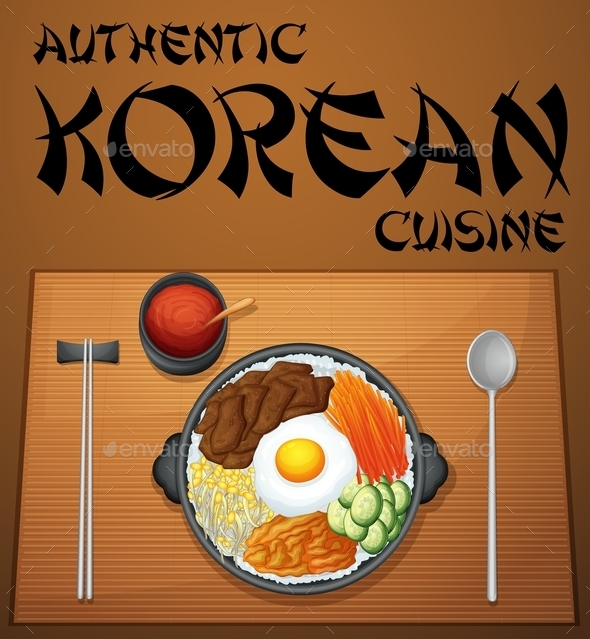 Korean Food - Food Objects