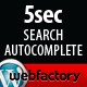 5sec Search Autocomplete