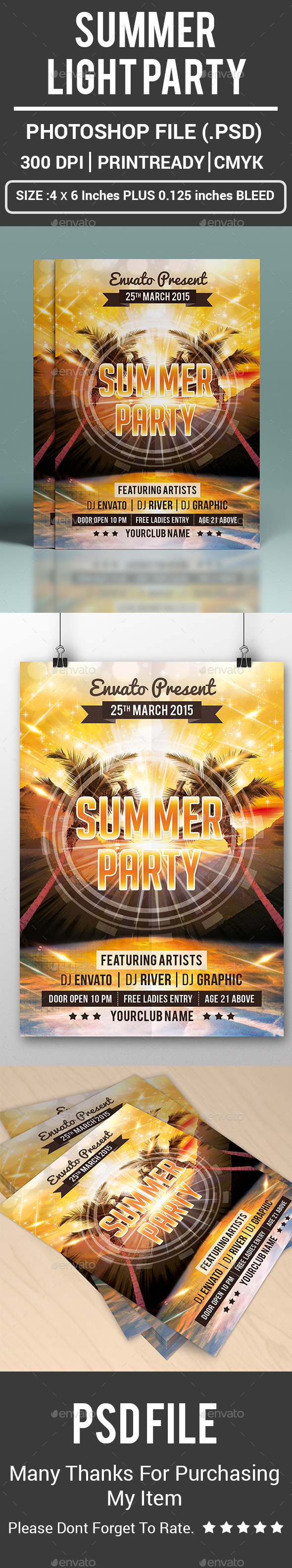 Summer Light Party - Clubs & Parties Events