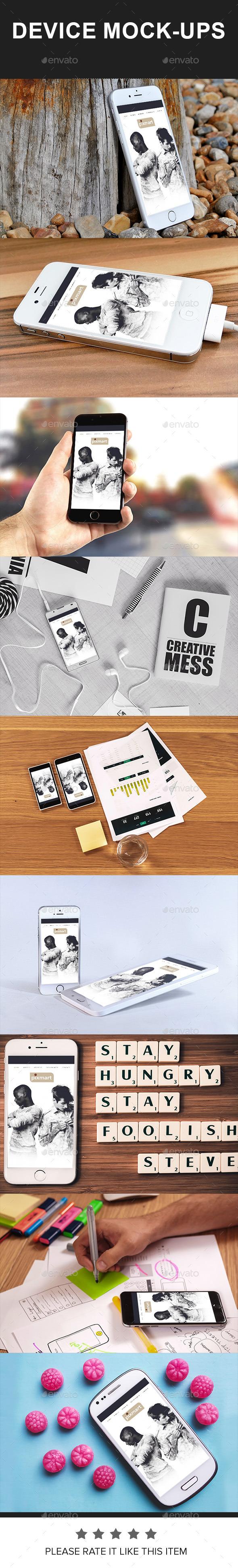 Devices Mockup 02 - Displays Product Mock-Ups