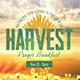 Harvest Prayer Breakfast Flyer Template - GraphicRiver Item for Sale