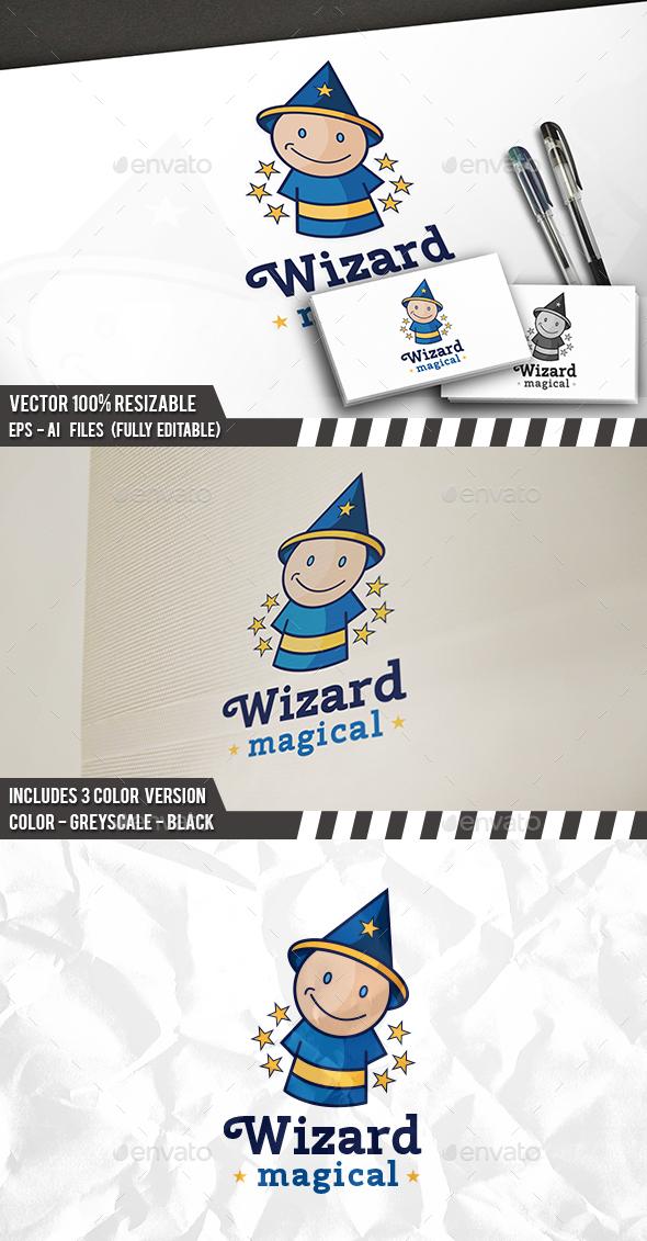 Wizard Logo - Humans Logo Templates