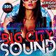 Big City Sound Party Flyer  - GraphicRiver Item for Sale