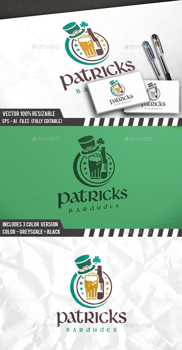 Irish Bar Logo - Objects Logo Templates