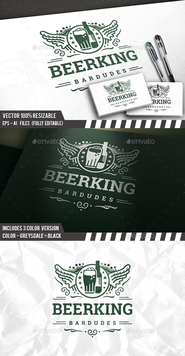 Beer Club Logo - Crests Logo Templates