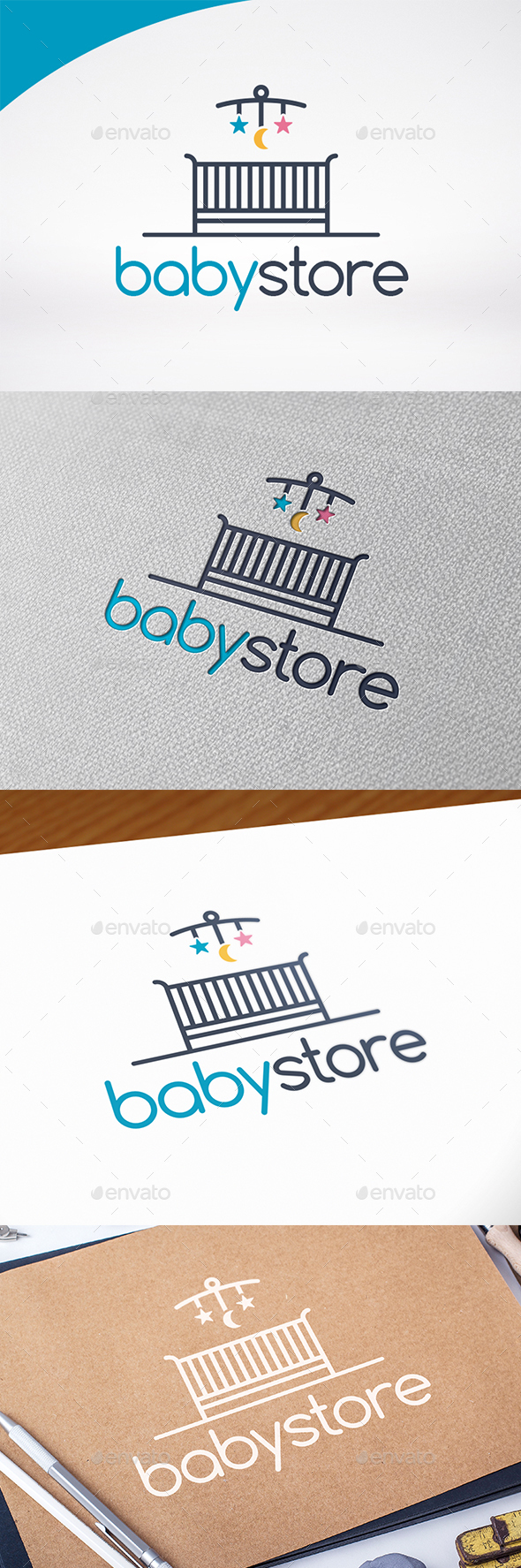 Baby Shop Logo Template - Objects Logo Templates