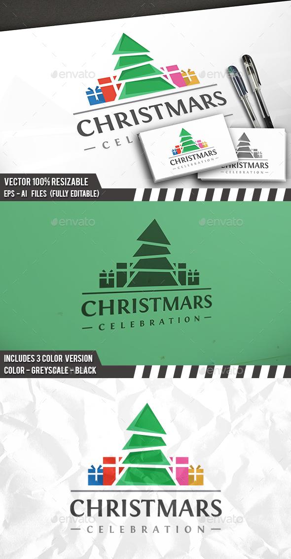 Christmas Logo - Nature Logo Templates