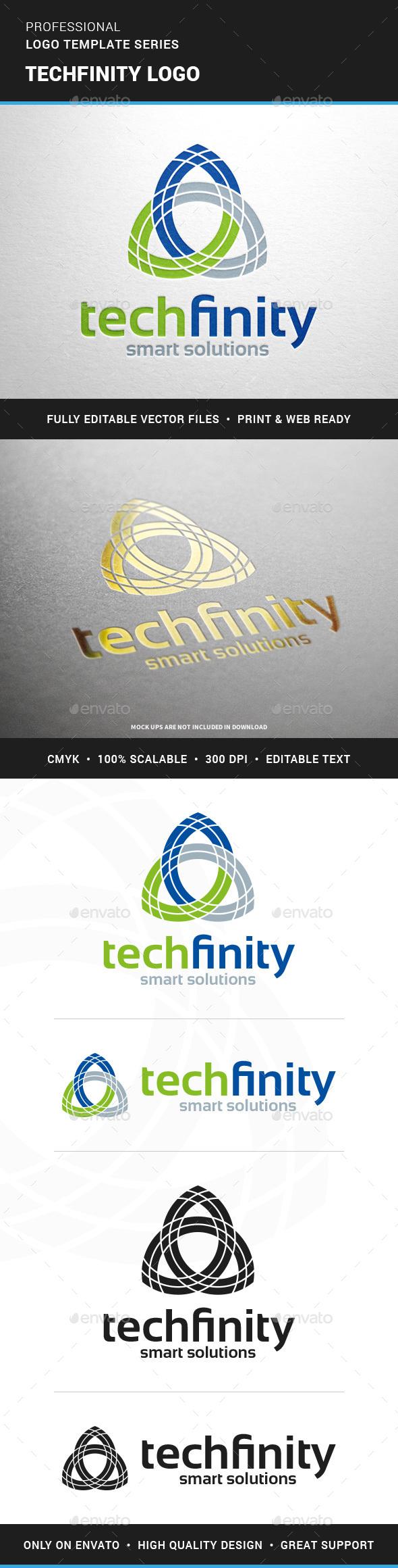 Techfinity Logo Template - Logo Templates