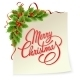 Vector Christmas Holly With Berries. - GraphicRiver Item for Sale