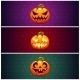 Horizontal Halloween Banners Background - GraphicRiver Item for Sale